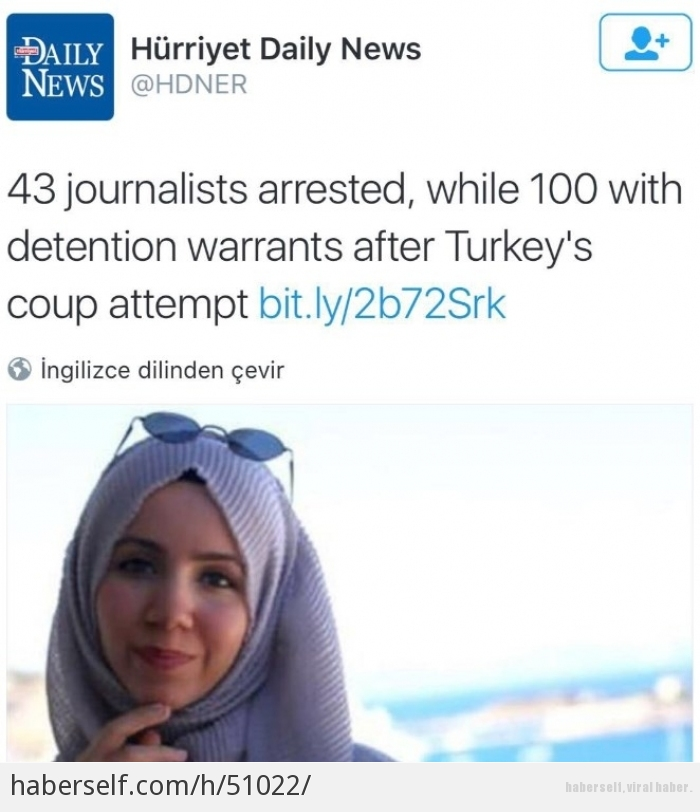 Daily Buzz Viral: Hürriyet Daily News 15 Temmuz'a Gölge Düşürme Peşinde